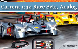 Carrera 1:32 Race Sets, Analog