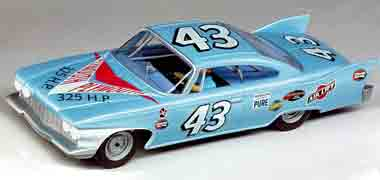 Carrera 27329 Plymouth Fury Richard Petty, #43