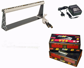 DS9998 4-lane timing and scoring system for Scalextric track