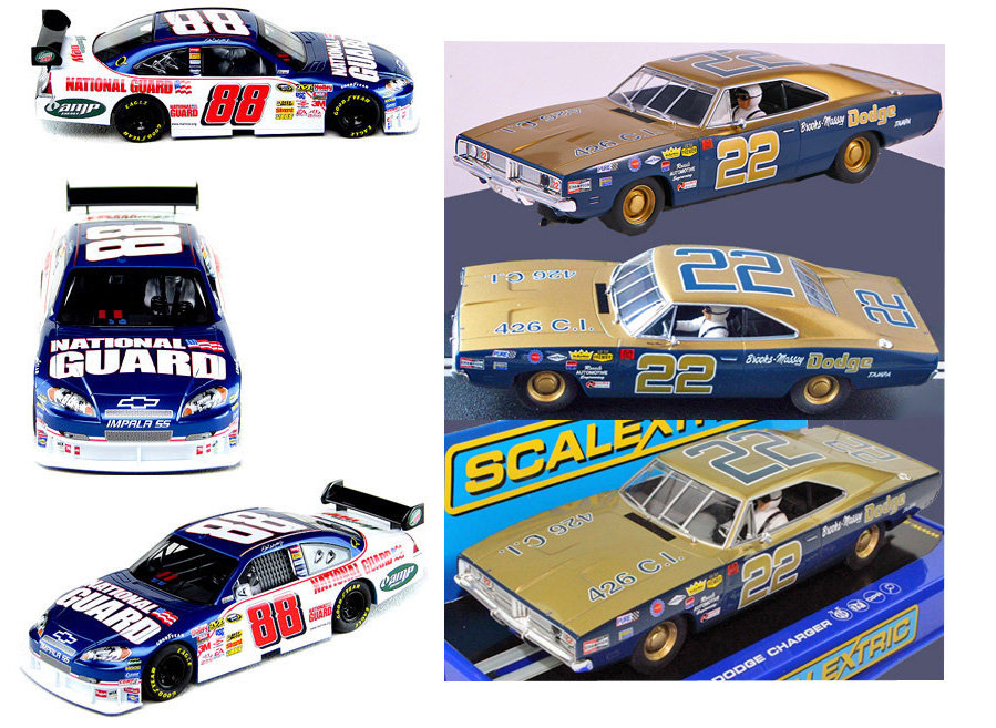 EDSET-33 NASCAR Chevy COT & Dodge Charger 2-car pack