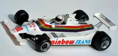 Fly F01105 Williams FW07, Geoff Lees