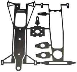 Beardog short-wheelbase F1 chassis kit