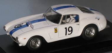Proto Slot GM015/2PW Ferrari 250SWB LM 61, white, KIT