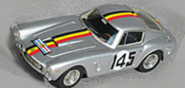 Proto Slot GM015/3PS Ferrari 250SWB TDF/TT 61, silver, KIT - $79.99