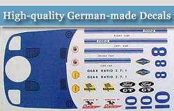 High-quality German-made Decals