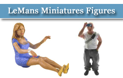 LeMans Miniatures Figures