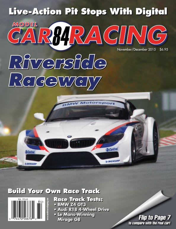 MCR84 Model Car Racing magazine November/December 2015