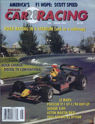 MCR28 Model Car Racing Magazine, Jul. / Aug. 2006