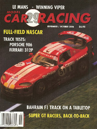 MCR29 Model Car Racing Magazine Sep./Oct. 2006