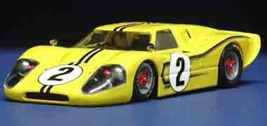 NSR 1054 Ford MkIV, yellow, LeMans 1967