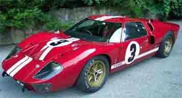 NSR 1055 Ford Mk!!, LeMans 1966