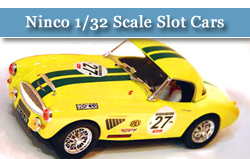 All Slot Cars Product from all Manufacturers