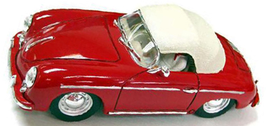 Ninco 50567 Porsche 356, red