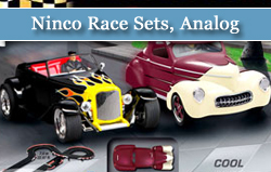 Ninco 1/32 Scale Race Sets, Analog