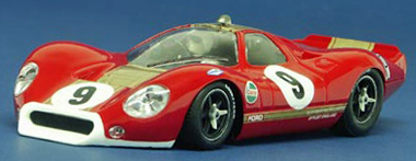 NSR Ford P68 (F3L), red, #9