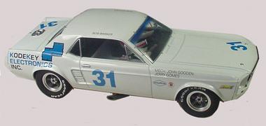 Pioneer P006 67 Mustang, Kode Key