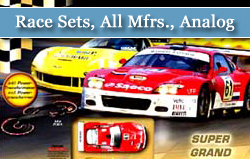 Race Sets, All Mfrs., Analog