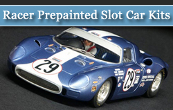 Racer Prepainted Slot Car Kits