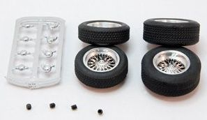 BRM S106 Classic Wire Spoke Wheels & Tires, set of 4 front and rear ...