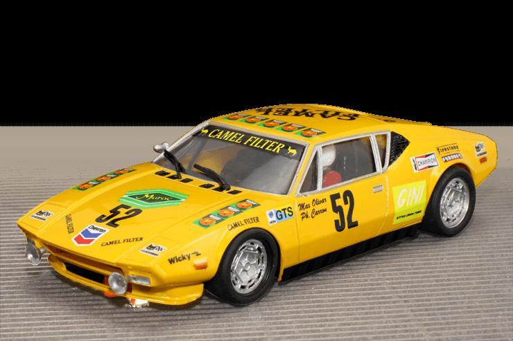 Scale Auto SC6034 1/32 scale DeTomaso Pantera Grp 3 yellow