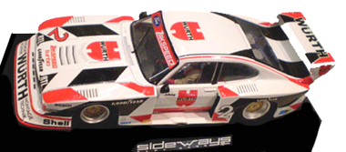 Racer SW14 Zakspeed Capri, #2 Wurth, K. Ludwig