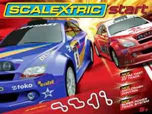Scalextric C1249T Start World Rally race set