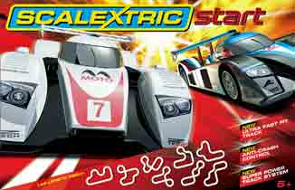 Scalextric C1251T Start GT Endurance race set.
