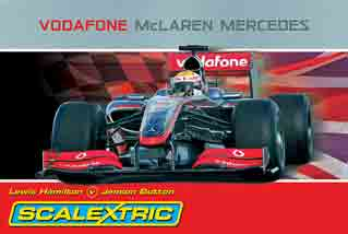 Scalextric C1253T Vodafone McLaren Mercedes set
