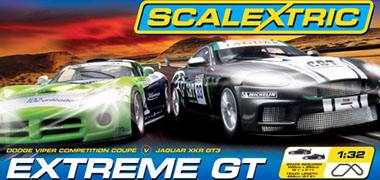 Scalextric C1255T Extreme GT race set