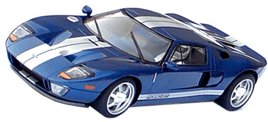 Scalextric C Ford Gt Blue C