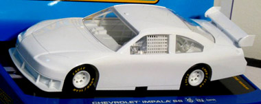 Scalextric C2957 Chevrolet NASCAR COT, white