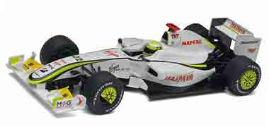 Scalextric C3047A Brawn F1, Jenson Button, 2009. Preorder now!