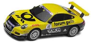 Scalextric C3079 Porsche 997 Forum Gelb