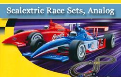 Scalextric Sport 1/32 Scale Race Sets, Analog