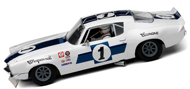 Scalextric C2896 1970 Camaro TransAm car, Jim Hall / Vic Elford