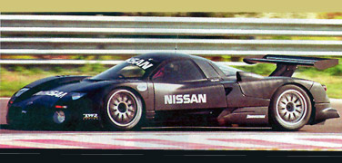 Slot It SICA05F Nissan R390 GT1, #22, test, 1997