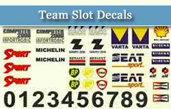 Team Slot Decals