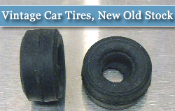 Vintage Car Tires, New Old Stock