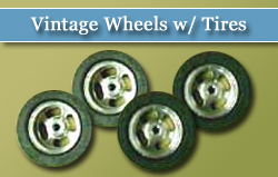 Vintage Wheels w/ Tires