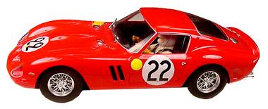 Fly A1801 Ferrari 250 GTO, Dernier / Blaton, LeMans 1962
