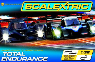 Scalextric C1248T Total Endurance race set
