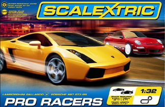 Scalextric C1252T Pro Racers race set