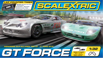 Scalextric C1274T GT Force race set
