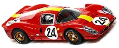 Scalextric C2642 Ferrari 330P4 Le Mans 1967, 3rd place
