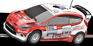 Scalextric C3284 Ford Fiesta RS WRC, Stobart