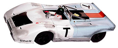 GB Track GB9 Porsche 917PA test car