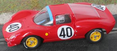 GMC13R Ferrari Dino 166P LeMans 1965 RTR