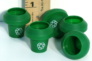 HR 702 Trash cans, 1/32 or 1/24 scale, pk. of 5