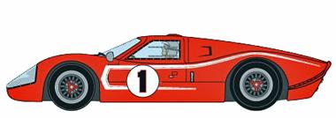 MRRC MC12008 Ford MkIV, 1967 LeMans winner. Preorder now!