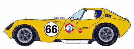 MRRC MC12010 Cheetah, #66 yellow. Preorder now!